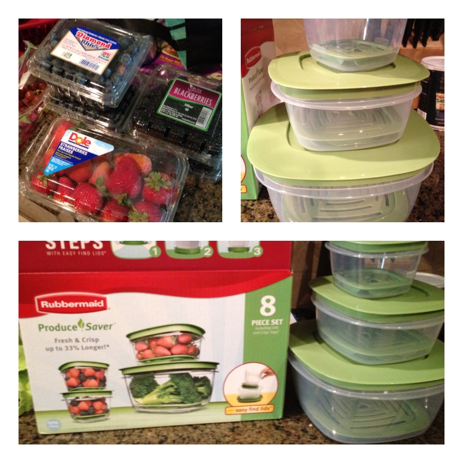 Giveaway: Rubbermaid Produce Savers