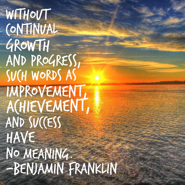 Monday Motivation: you can improve