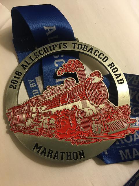 Race Recap: Tobacco Road Marathon