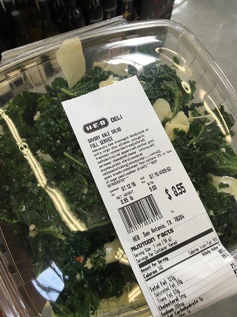 Divulgence of kale & everything else I've been eating