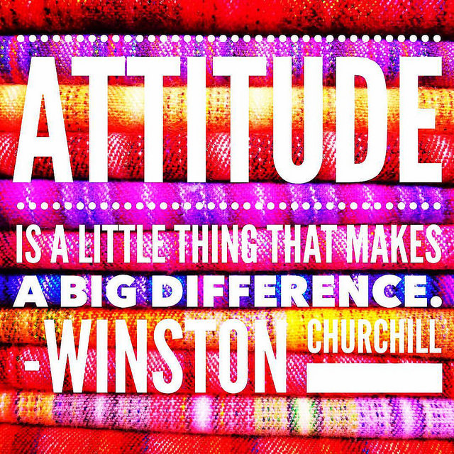 #MondayMotivation: Attitude gives you strength