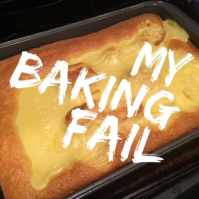 Making the sugar-free cake