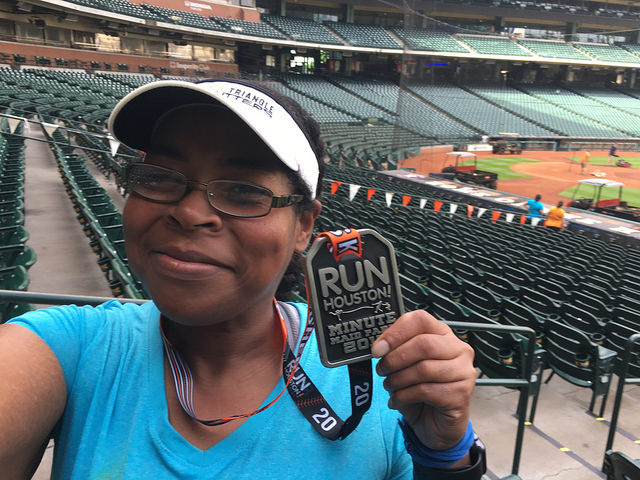 Race Recap: Run Houston! Minute Maid Park