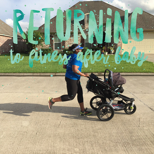 Returning to fitness after baby