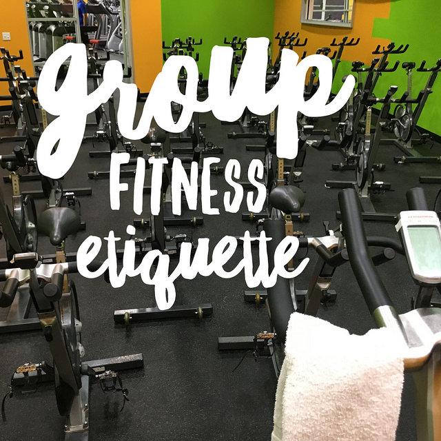 Group fitness etiquette