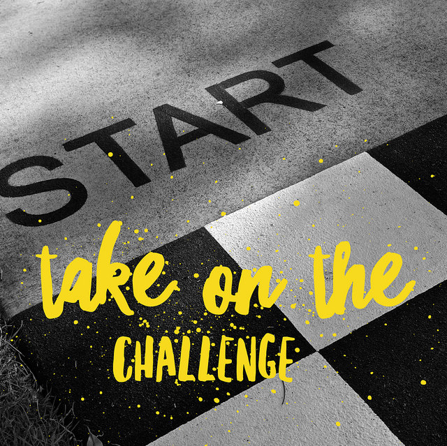 Monday Motivation: Take the challenge