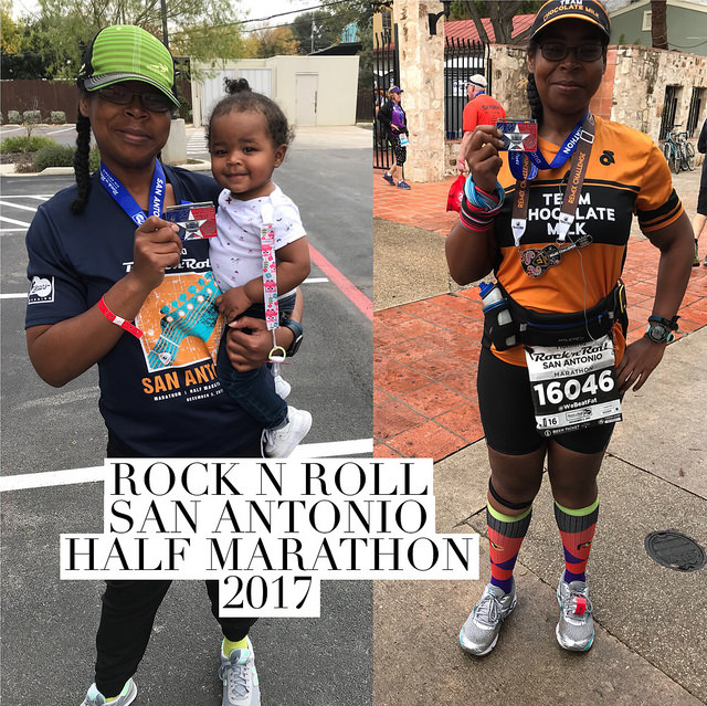 Race Recap:  Rock n Roll San Antonio Half Marathon
