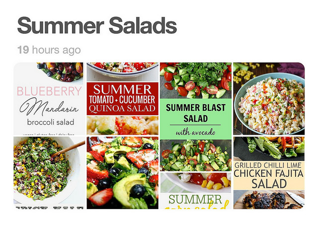 The search for summer salads