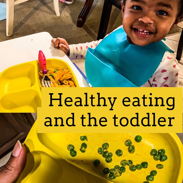 Healthy eating and the toddler