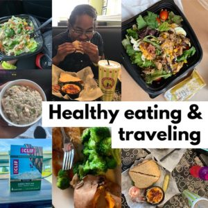 Travel and healthy eating