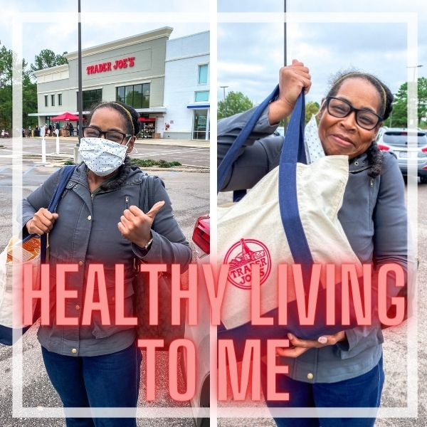 What healthy living means to me