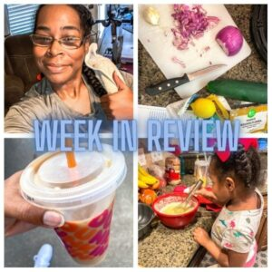 Mom Works It Out // Week in Review #1
